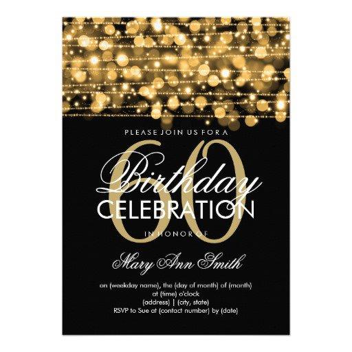 Man Birthday Invitations Templates