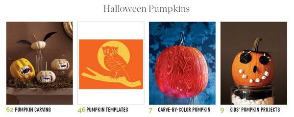 Martha Stewart Halloween Templates For Pumpkins