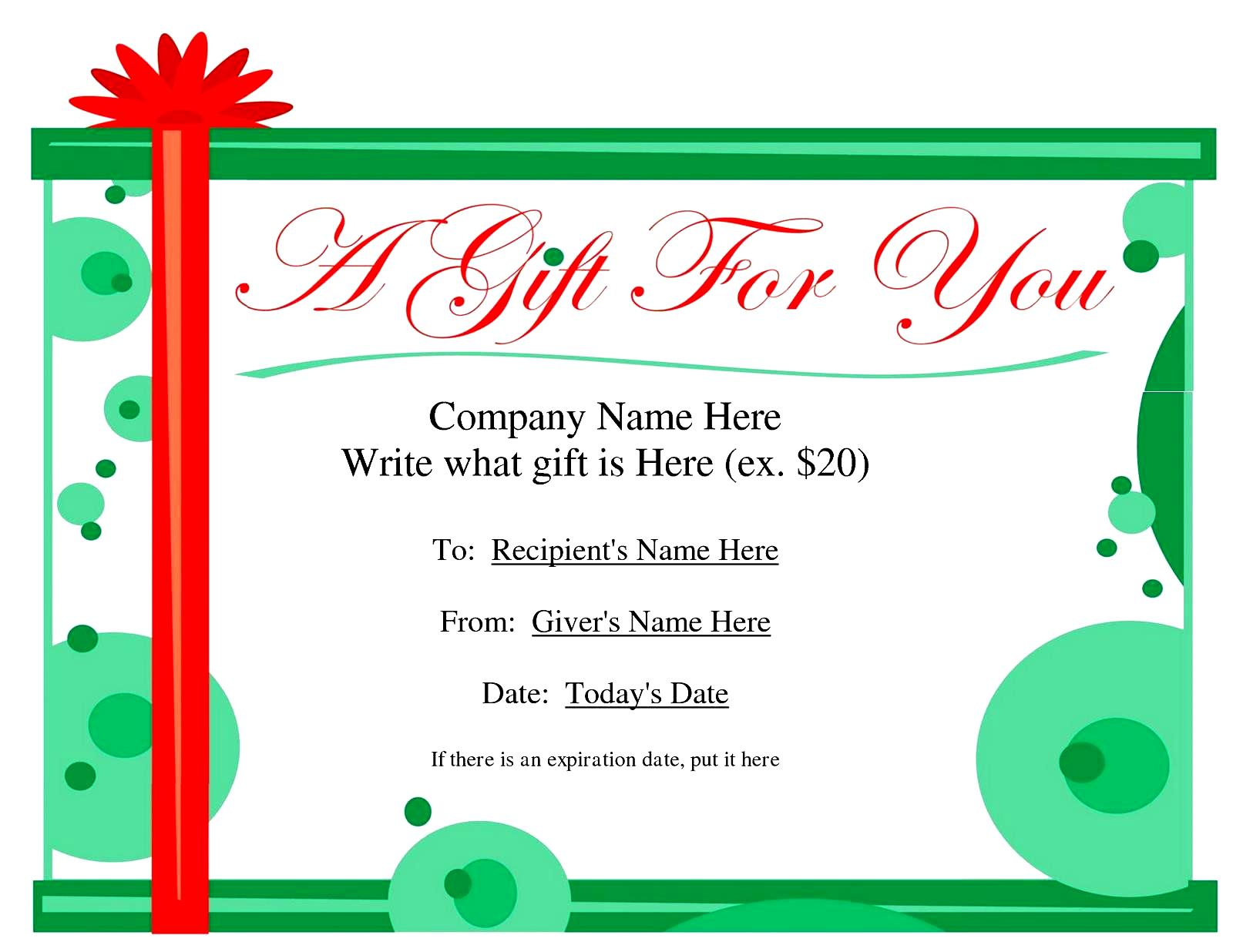 It's just a picture of Effortless Massage Gift Certificate Template Free Printable