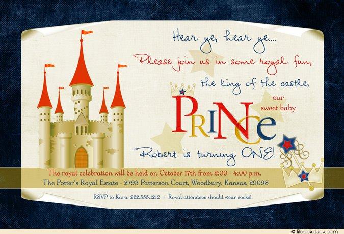 Medieval Birthday Party Invitation Templates
