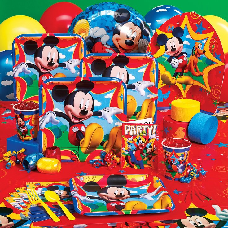 Mickey Mouse Clubhouse Birthday Party Supplies