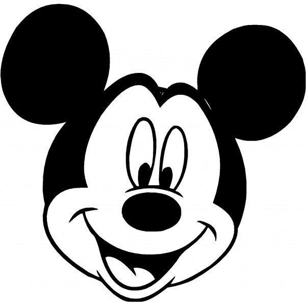 Mickey Mouse Ears Border Clip Art