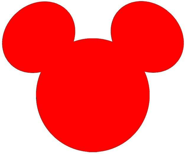 Mickey Mouse Ears Clip Art Free