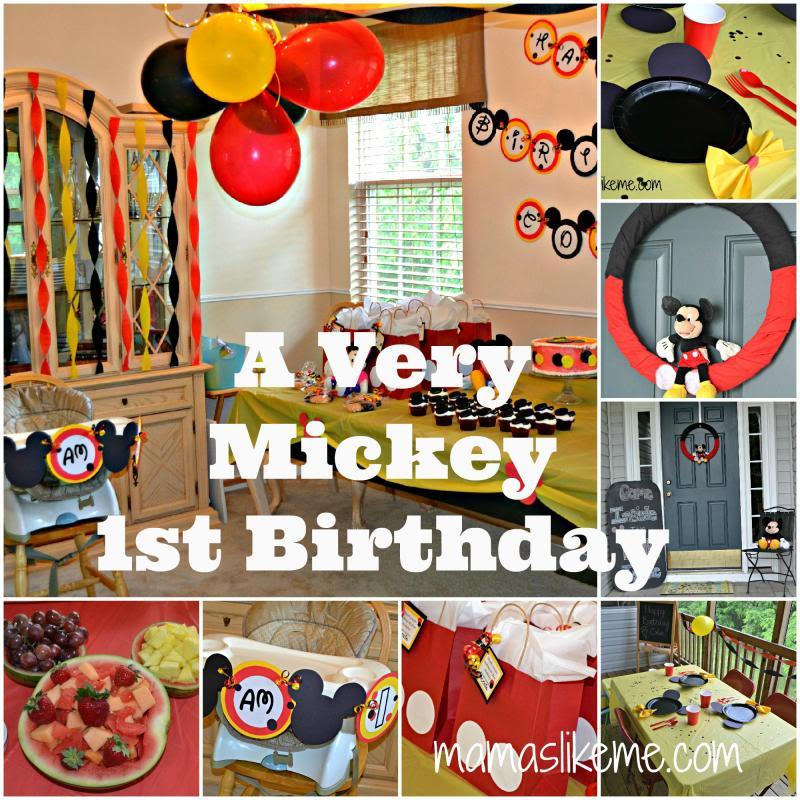 Mickey Mouse First Birthday Invitations Walmart