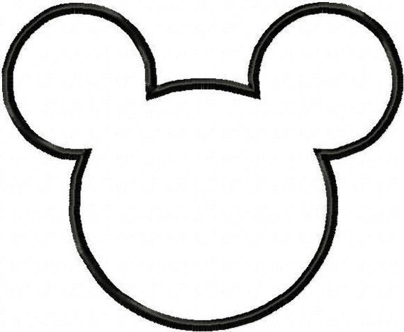 Mickey Mouse Hand Puppet Template