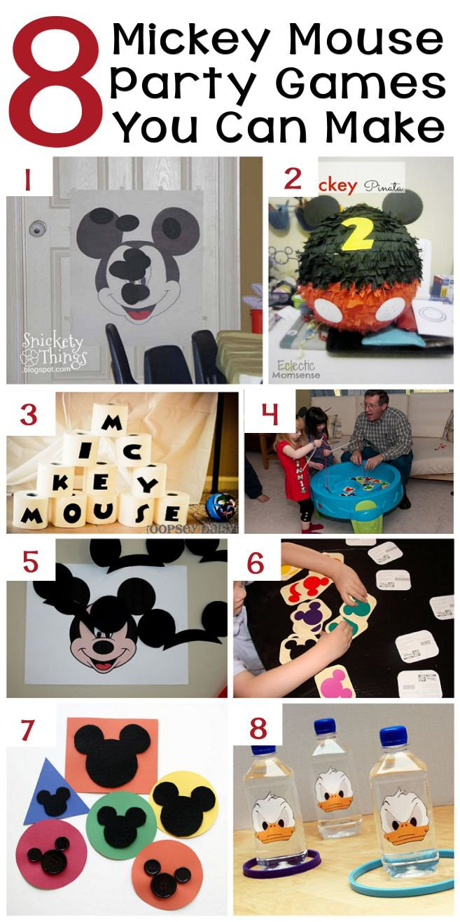Mickey Mouse Party Ideas Diy