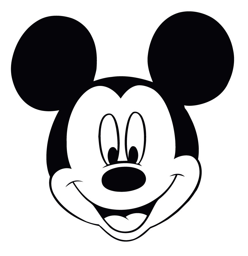 Mickey Mouse Stencil Printable