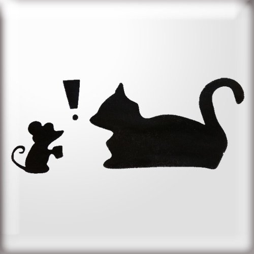 Mickey Mouse Stencil Printable Icon