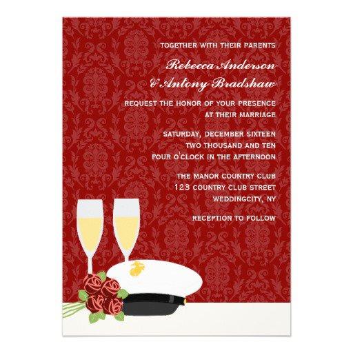 Military Wedding Invitations Uk