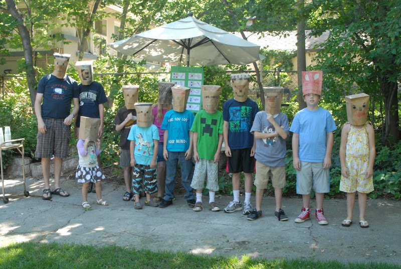 Minecraft Pool Party Invitations
