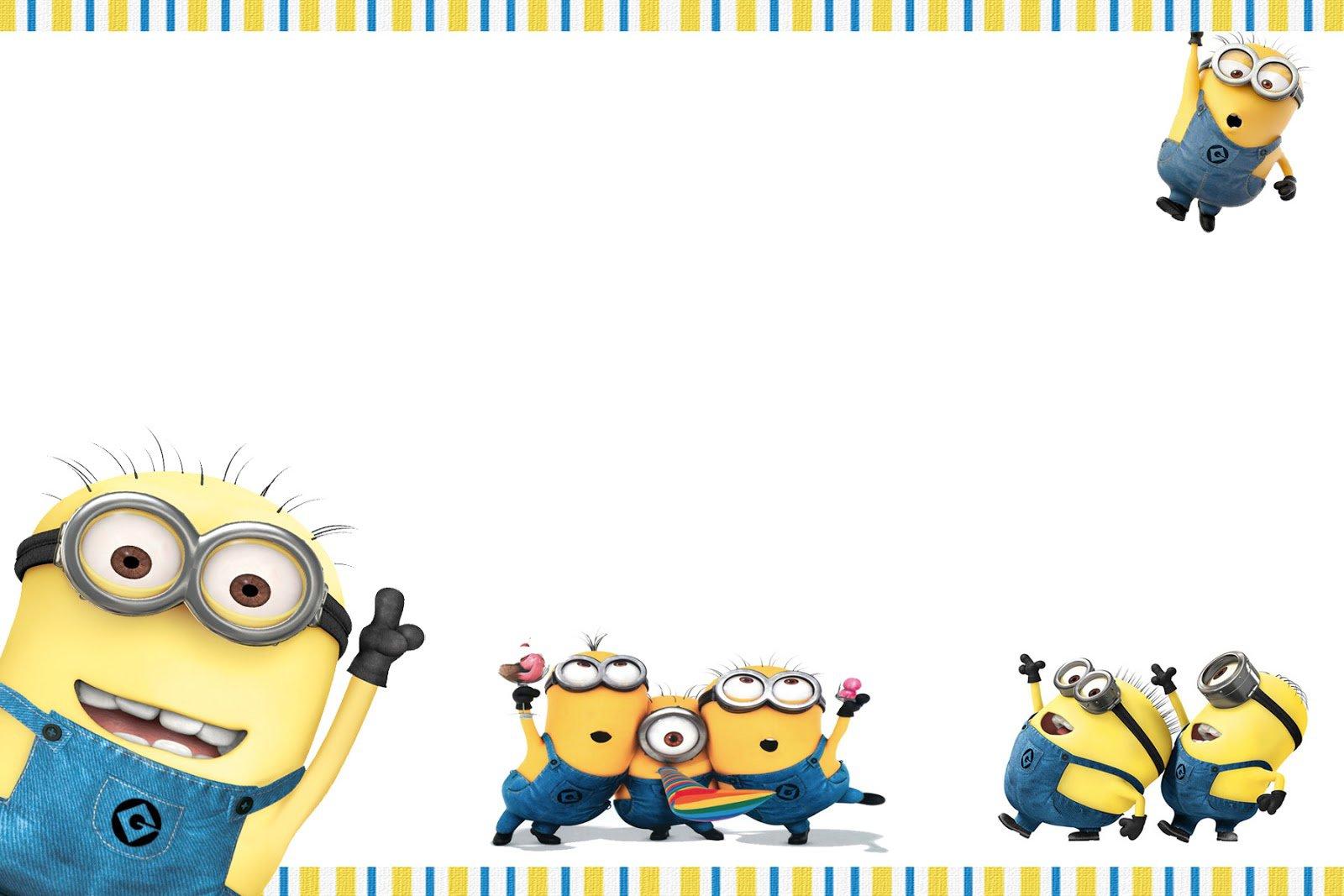 Minion Birthday Invitation Templates Free