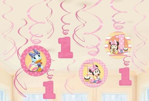 Minnie Mouse 1st Birthday Decorations Uk
