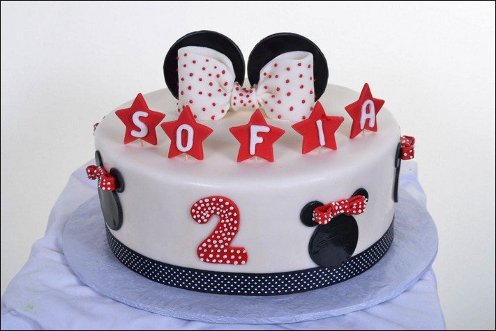 Minnie Mouse Baby Shower Cakes Walmart