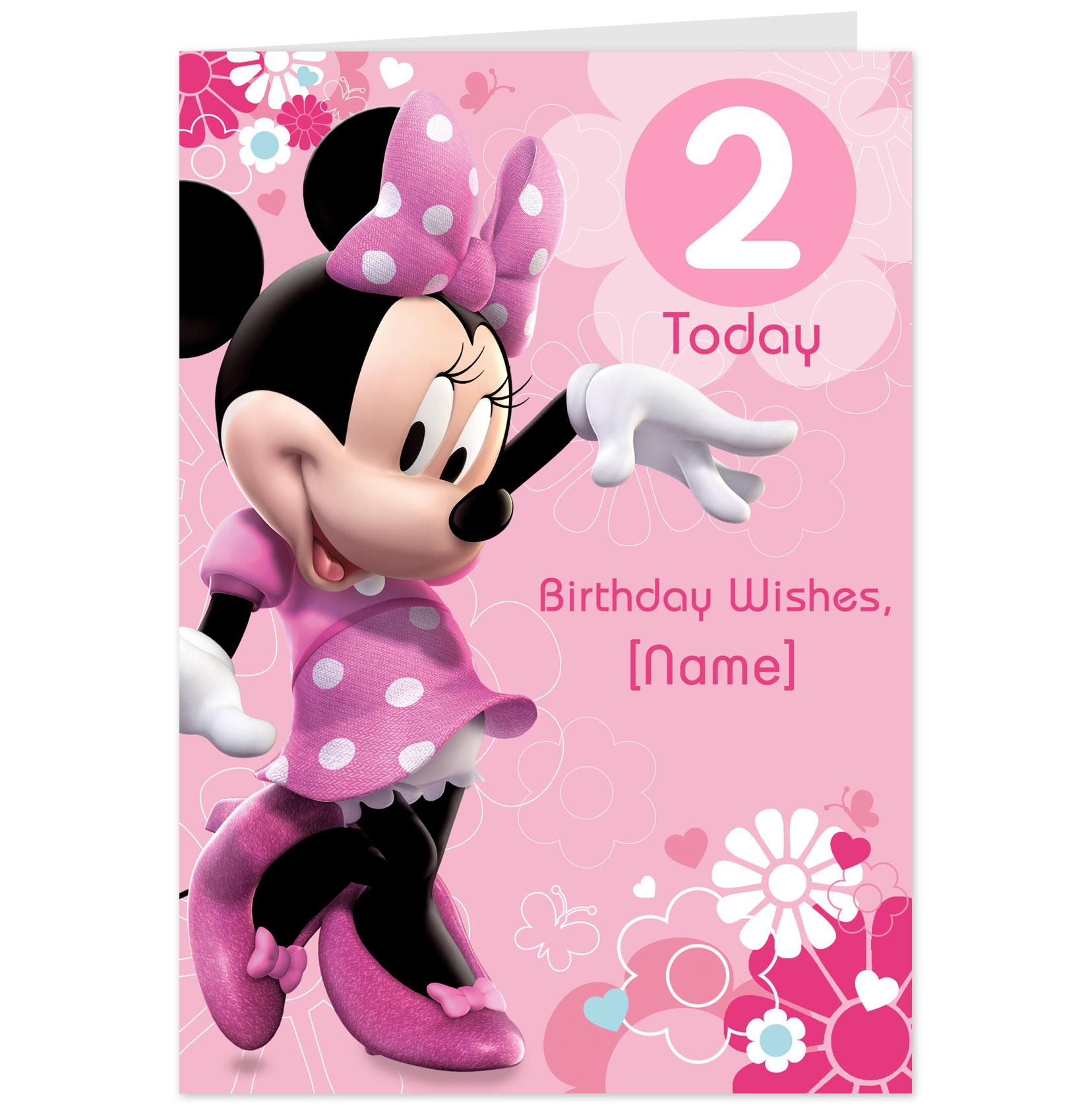 Minnie Mouse Bday Invitations