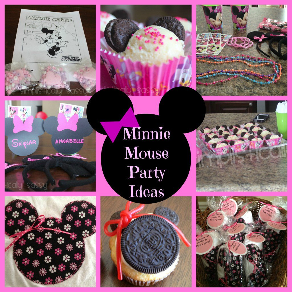 Minnie Mouse Birthday Party Ideas For A 2-year-old