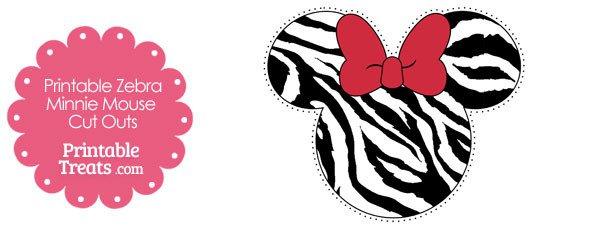 Minnie Mouse Head Printable