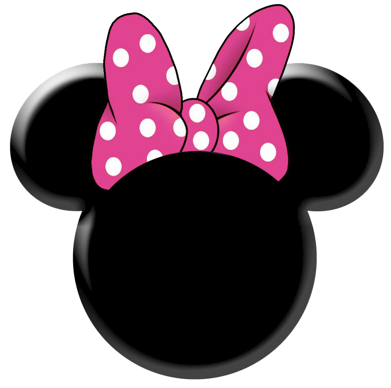 Minnie Mouse Head Silhouette Printable