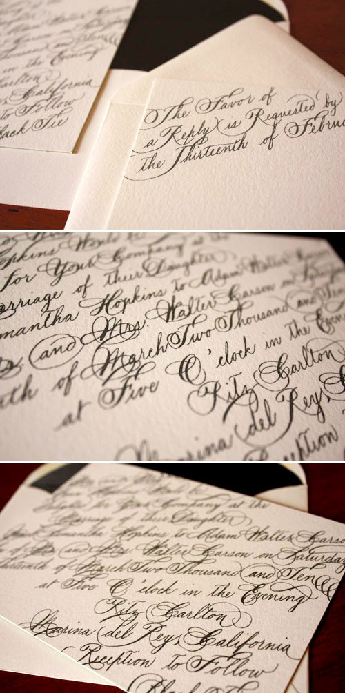 Modern Invitation Design Inspiration