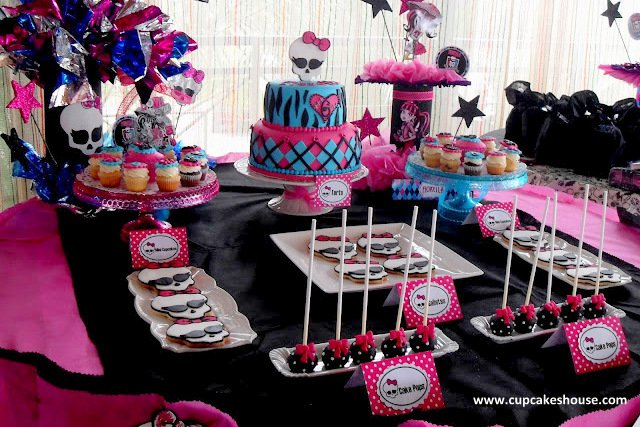 Monster High Party Invitations Ideas