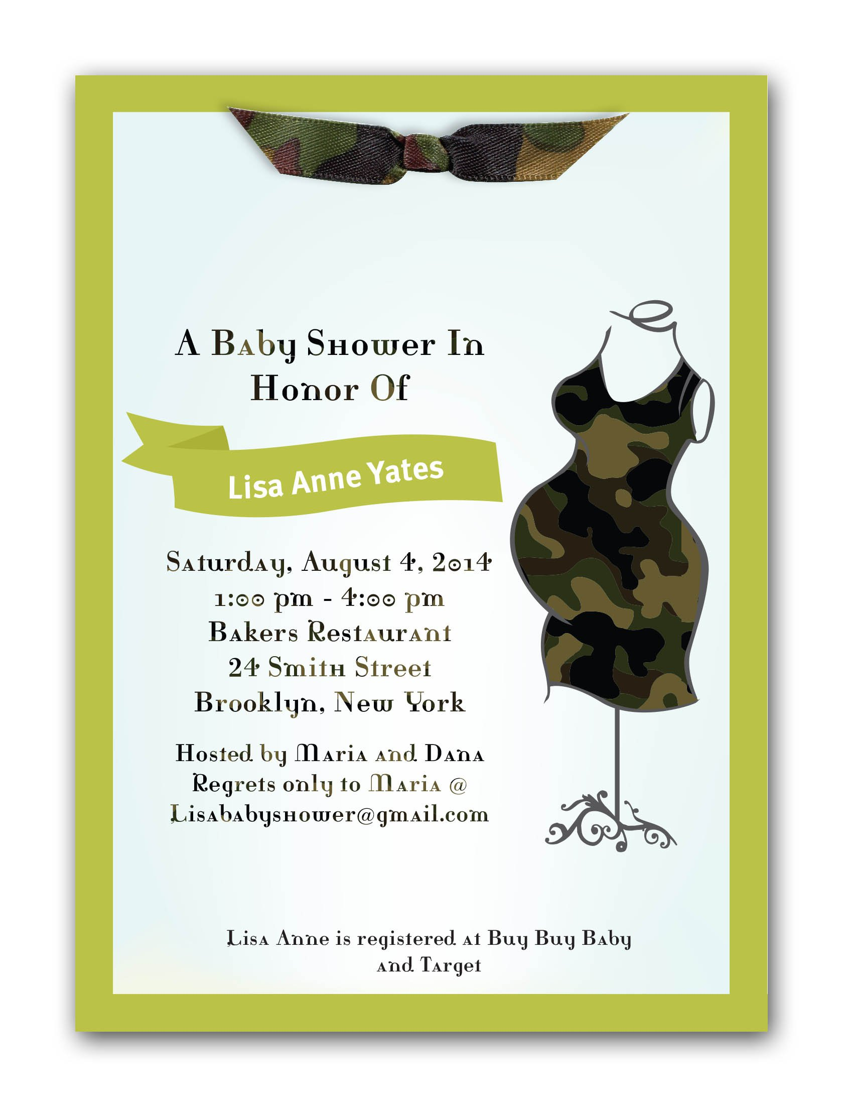 Mossy Oak Camo Invitations