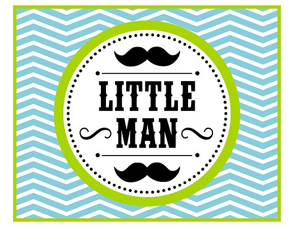 Mustache Party Invitations Free Printables