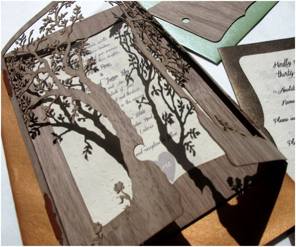 Natural Paper Wedding Invitations Uk