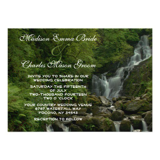 Nature Wedding Invitations Uk