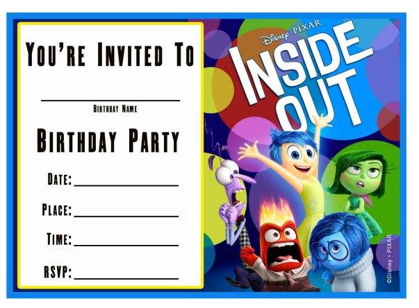Party Invitation Templates Printable Free