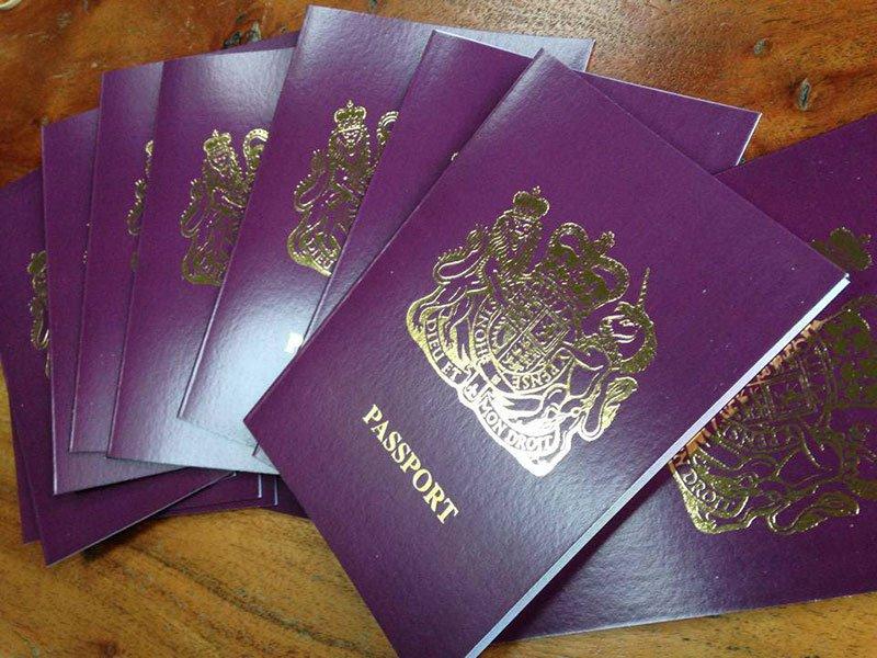 Passport Style Wedding Invitations Uk