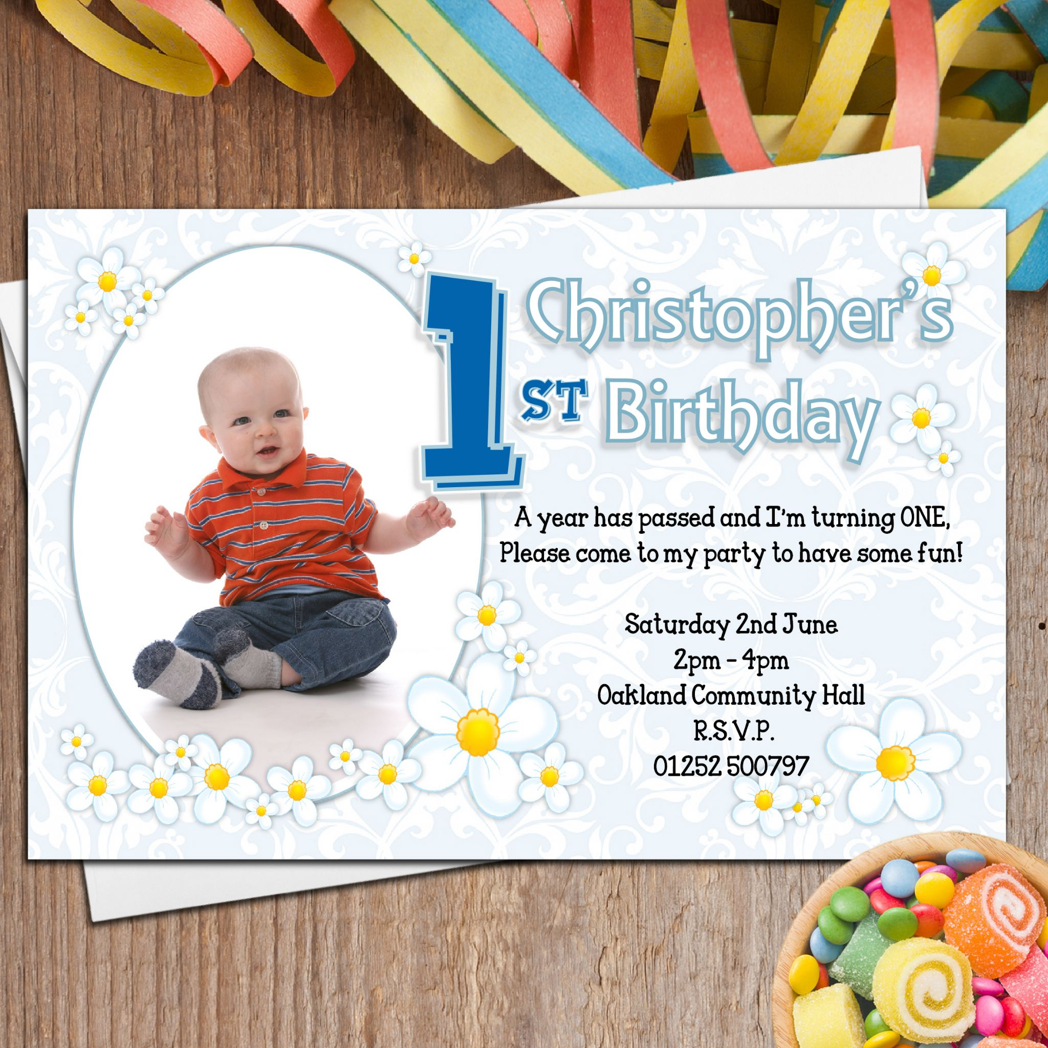 Personalized Birthday Invitations For Boys