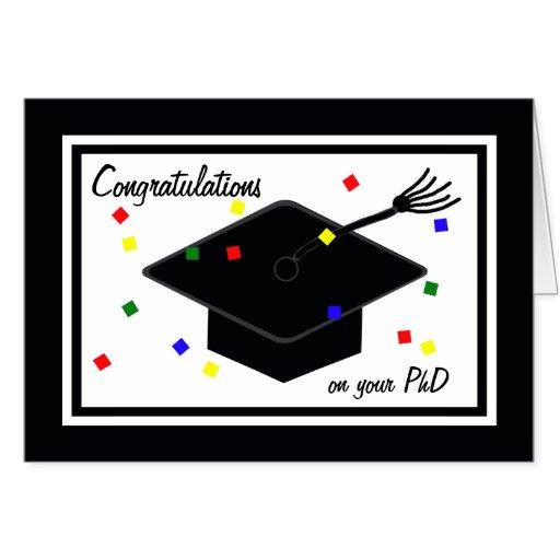 Phd Graduation Party Invitations