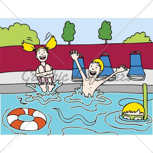 Pool Party Clip Art Images