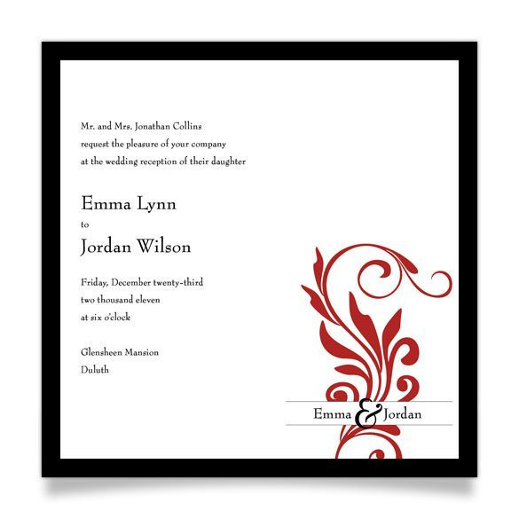 Post Wedding Party Invitation Wording: Post-wedding Dinner Invitation Wording