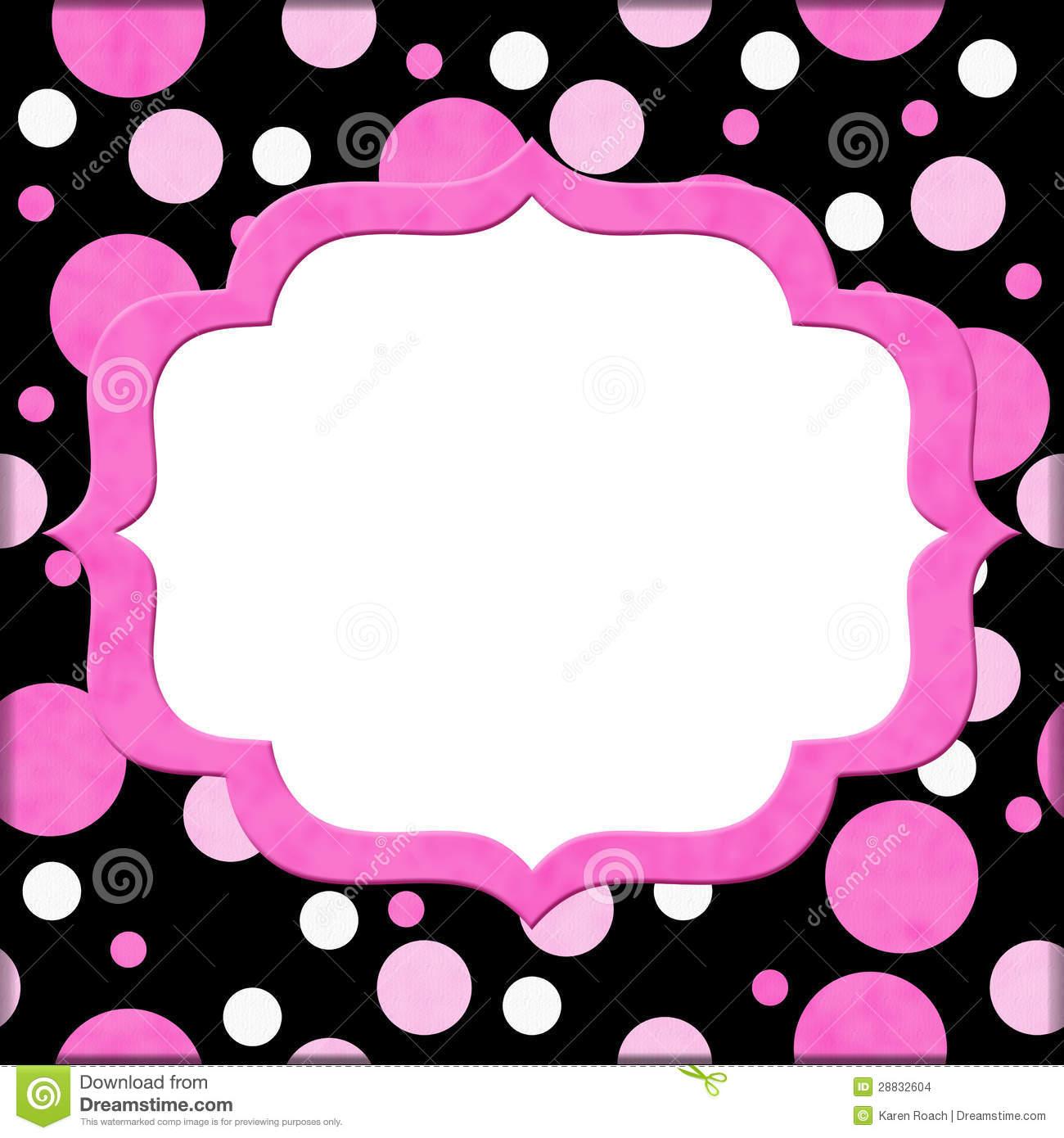Pretty In Pink Invitations