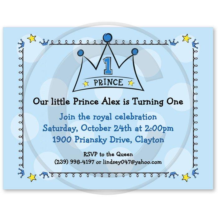 Prince Invitations