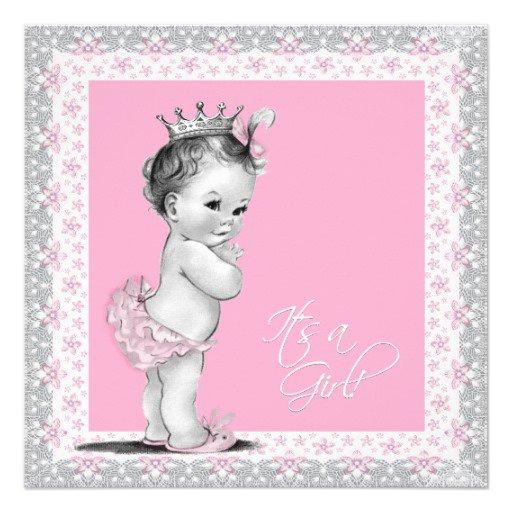 Princess Baby Shower Invitations No Wording