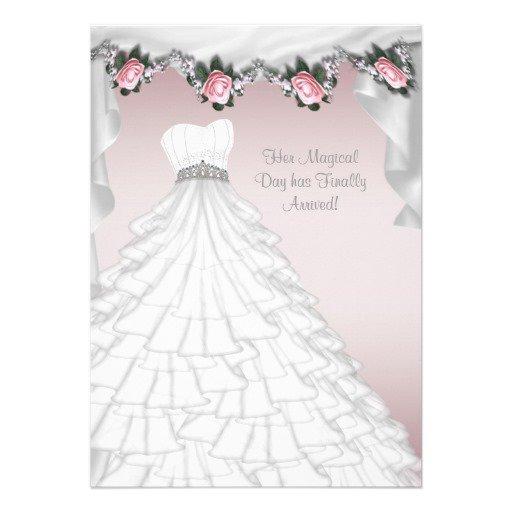 Princess Dress Invitation Template