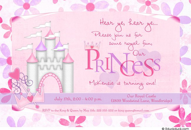Princess Birthday Invitation Words Orderecigsjuiceinfo - Birthday invitation in words