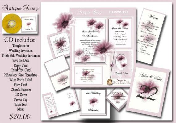 Print It Yourself Invitation Kits