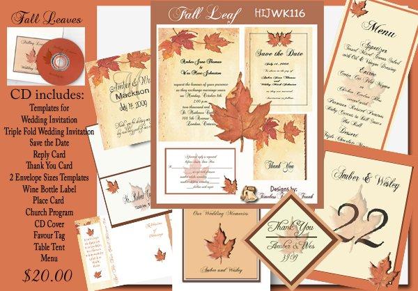 Print It Yourself Wedding Invitation Kits