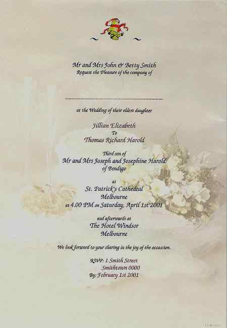 Print Own Wedding Invitations