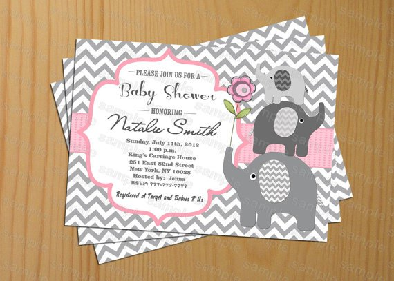 Print Your Own Invitations Baby Shower