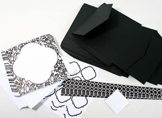Print Your Own Wedding Invitations Kit