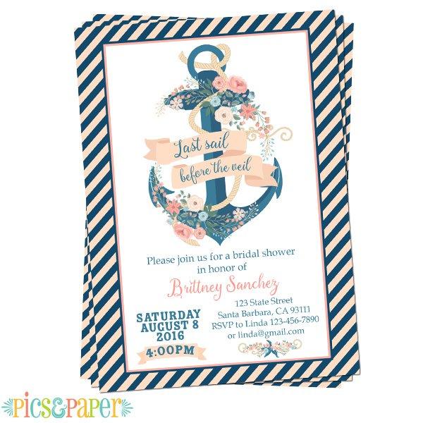 Printable Baby Invitation Paper