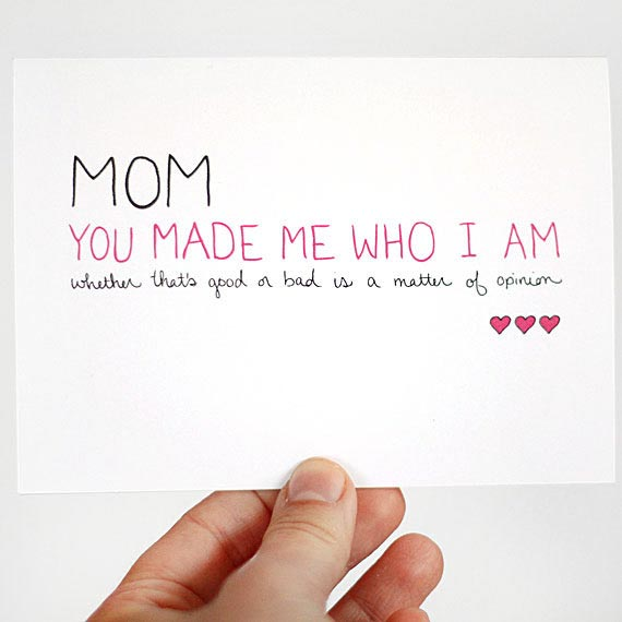 Printable Birthday Cards For Mom From Daughter