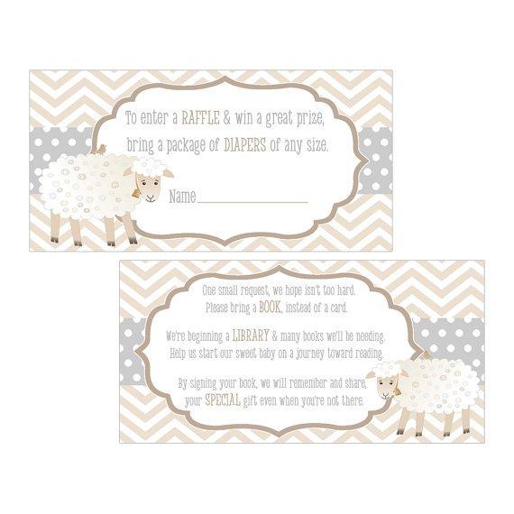 Printable Invitation Inserts