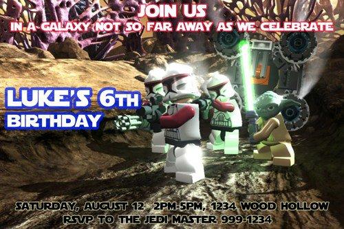 Printable Lego Star Wars Birthday Banner