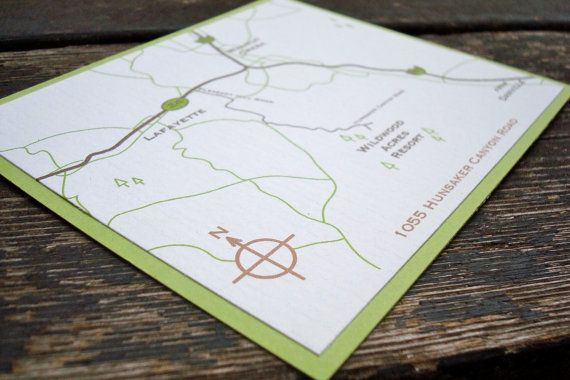 Printable Maps For Wedding Invitations