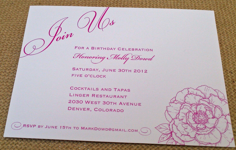 Printable Tea Party Invitations Free