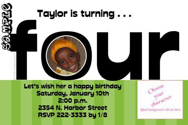 Printable Tow Mater Birthday Invitations